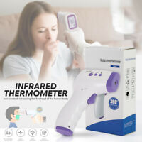 Non-Contact Infrared Forehead Thermometer Digital LCD Temperature Gun Baby Adult