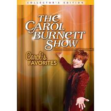 The Carol Burnett Show Carol's Favorites DVD BOXSET 6 Disc Collectors Ed