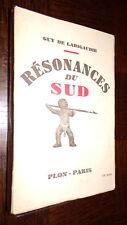RESONANCES DU SUD - Guy de Larigaudie 1947 - Polynésie Scouts c