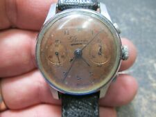 vintage BOVET SWISS CHRONOGRAPH NICE ORIGINAL DIAL MENS WRIST Watch