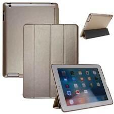 Luxus Leder Schutzhülle f. Apple iPad Pro Tablet Tasche Cover Case Smart gold