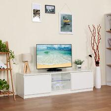 120CM High Gloss Front LED TV Media Stand Cabinet Modern Living Room Furniture