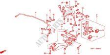 GENUINE NEW HONDA CIVIC 01 - 06 REAR SUSPENSION UPPER ARM BUSH 51395 S5A 004