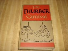Awesome 1945 Vintage book - The Thurber Carnival by James Thurber