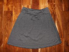 NWT Womens TRANQUILITY Colorado Clothing Black Gray A-Line Skirt Size L Large