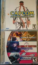 Sega Dreamcast Capcom King of Fighters Street Fighter Collection