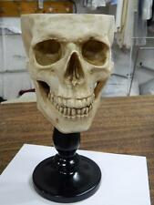 HALLOWEEN HORROR MOVIE PROP - The Ultimate Skull Candy Dish/Bowl/GOBLET