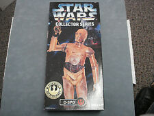 STAR WARS COLLECTOR SERIES **C-3PO** SIGNED BY ANTHONY DANIELS **RARE** C.O.A.