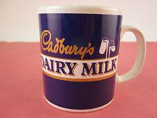 Vintage 1995 CADBURY'S DAIRY MILK COFFEE CUP / MUG Rare Staffordshire EX COND.