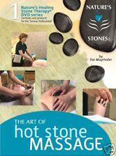 NSI Hot Stone Full Body Massage Spa Video on DVD - Digital Manual & Certificate