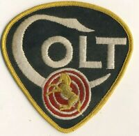"Colt Firearms Advertising 4"" Older Cheesecloth Patch"