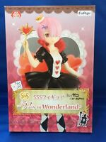 RAM SSS Figure in Wonderland Re: Zero Starting Life in Another World FuRyu F/S