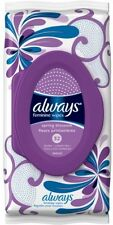 Always Spring Blossom Scent Feminine Wipes, 32 Sheets