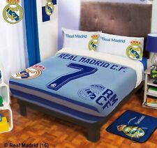 CR7 MADRID COLLECTION BLANKET WITH SHERPA VERY SOFTY THICK AND WARM FULL SIZE
