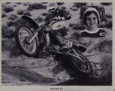 1978 STEVE WISE HONDA Vintage MOTOCROSS PHOTO PRINT RC500 CR250R CR125R