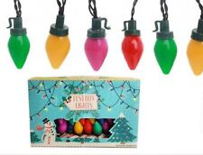 Vintage Style Christmas Festoon Lights  ~ Battery