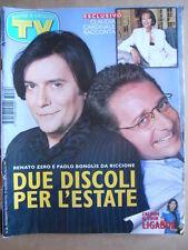 TV Sorrisi e Canzoni n°26 1997 Renato Zero Luciano Ligabue Claudia Cardinale[D3]