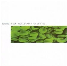 Rothko A continual search for origins (2002)  [CD]