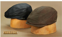 Stetson 150th Anniv Collection Leather Ivy Style Cap-515- 2 Colors- Free Ship*
