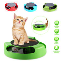 Interactive Cat Toy Rotating Mouse Pounce Automatic Rotating Play Mice Catch