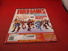 Video Games Magazine May 1996 Fighting Vipers vs Ulitmate Mortal Kombat 3 Cover