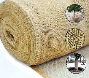 Jutematte Gartenjute für Pflanzen Wurzel-Schutz Jute Stoff 100cm breit meterware