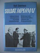 Soldat Diplomat U-Boot-Fahrer Journlist Ministerberater Rolf Steinhaus 1983