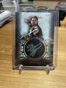 2021 Topps Diamond Icons Mike Piazza Silver In 09/10 New York Mets