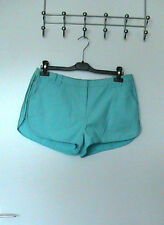 Papaya Cotton Plus Size Mid Shorts for Women