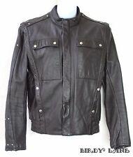 Vtg Hein Gericke Harley Davidson Jacket Moto Biker Cafe Racer Hipster Mens 36