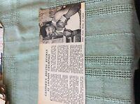 M89a ephemera 1966 picture london transport boxing dayley brown