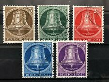 Germany, Berlin, Scott Catalog #'S 9N94-9N98 Used
