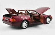 Norev Mercedes Benz 500SL R129 1989 Red Meta 1:18 183716