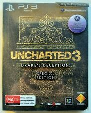 Uncharted 3 Drake's Deception Special Collector's Edition | Playstation 3 PS3