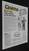 Revista Semanal Cinema Semana de La 27 Agosto A 2 Siete 1986 N º 365 Buen Estado
