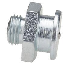 """NPT 1/8"""" [10 Stück] DIN 3404 Ø16mm Flachschmiernippel Stahl verzinkt"""