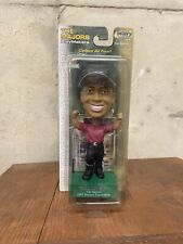 TIGER WOODS Upper Deck The Majors PlayMakers 2002 Masters Tournament Bobblehead