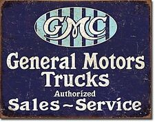 General Motor Trucks Authorised metal sign  (de 4030)
