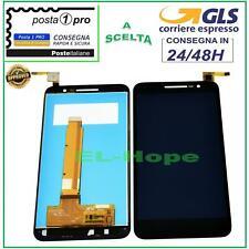 DISPLAY LCD ALCATEL VODAFONE SMART PRIME 6 VF-895N TOUCH SCREEN VETRO NERO