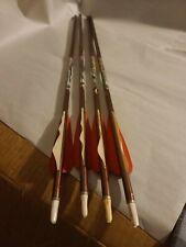 "4 Easton 2219 Xx75 Crossbow Hunter Aluminum Bolts Team Realtree 22.5"""