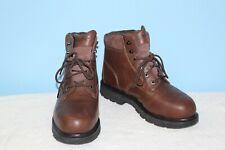 """Wolverine Boots Men's Steel Toe Waterproof 6"""" Work Boot Brown Oil Slip Resistant"""