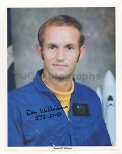 Donald E. Williams - Nasa Astronaut - Signed Official Nasa 8x10 Photograph