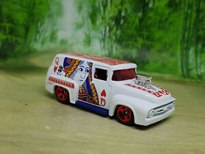 Hot Wheels '56 Ford F-100 Van Diecast Model 1/64 - Excellent Condition