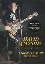 David Cassidy. I Think I Love you Greatest Hits Live. DVD/CD