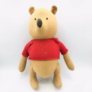 Vintage Winnie the Pooh Doll Plush by Agnes Brush Hundred Acre Wood 13""
