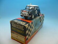 Scalextric C7 Rally Mini Cooper in Black boxed