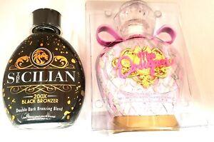 Designer Skin Miss Designer Tanning Lotion & The Sicilian 200X Black Bronzer