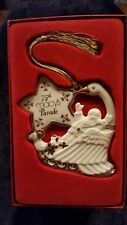 Lenox 2001 Macy's 75th Thanksgiving Day Parade Swan Ornament w/Box