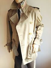 BURBERRY HOMME Medium 38-40 Top Designer imperméable trench-coat
