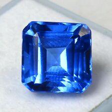 Certified 6.90 Ct Natural Russian Blue Aquamarine UNHEATED Loose Gemstones